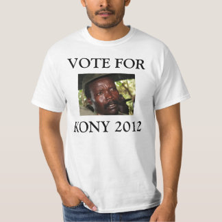 VOTO PARA KONY 2012 CAMISETAS