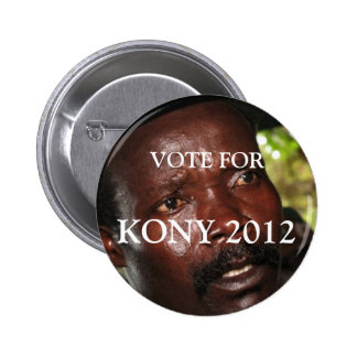 Voto para Kony 2012 Pin
