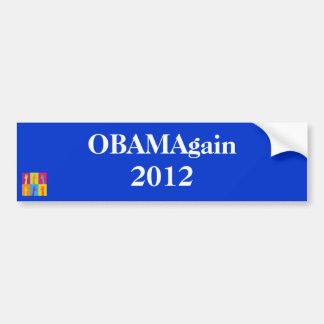 Voto para la pegatina para el parachoques otra vez pegatina de parachoque