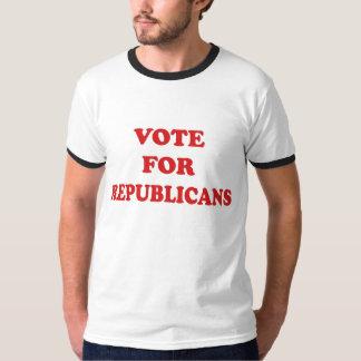 Voto para los republicanos camiseta