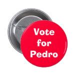 Voto para Pedro Pin