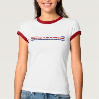 Voto Rohrabacher 2010 elecciones blanco y azul roj Camisetas