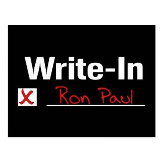 VOTO RON PAUL POSTAL