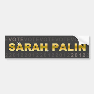 Voto Sarah Palin 2012 Pegatina Para Coche