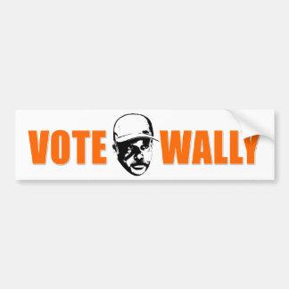 Voto Wally Bumpersticker Pegatina Para Coche