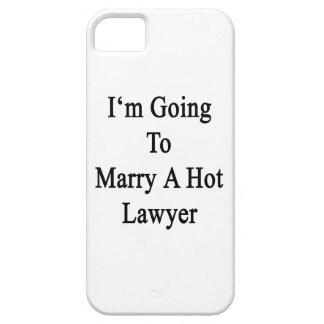 Voy a casar a un abogado caliente funda para iPhone 5 barely there