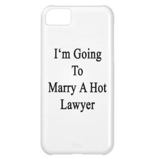 Voy a casar a un abogado caliente funda para iPhone 5C