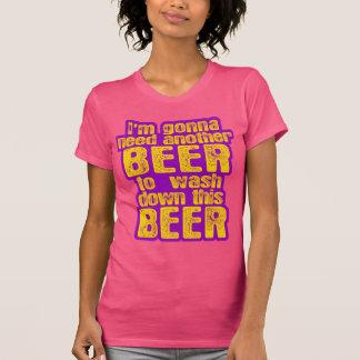 Voy a necesitar otra cerveza camisetas