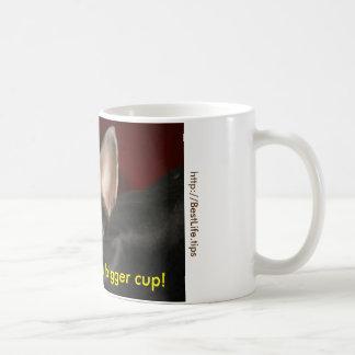 ¡Voy a necesitar una taza más grande!