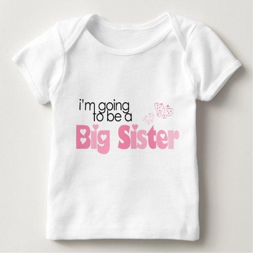 """""""Voy a ser una hermana grande """" Camisetas"""