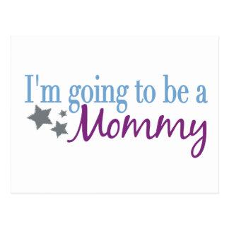 Voy a ser una mamá postales