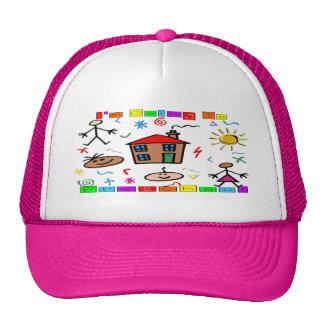 Voy al preescolar gorras