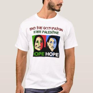 Voz judía para la paz camiseta
