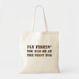¡Vuele el fishin que usted me tenía en el primer Bolsa Tela Barata