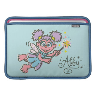 Vuelo de Abby Cadabby Funda Para MacBook