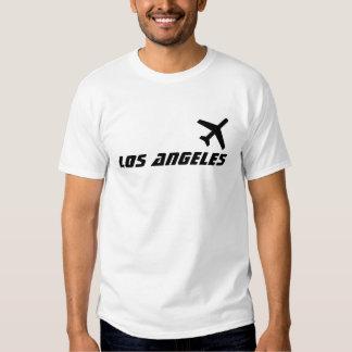 Vuelo de Los Ángeles Camisetas