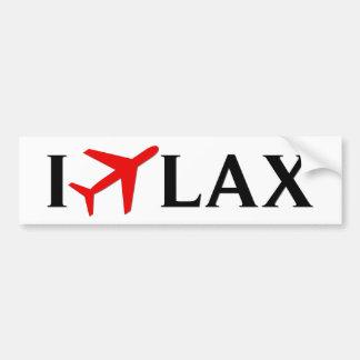 Vuelo el aeropuerto internacional de LAX - de Los  Pegatina Para Coche