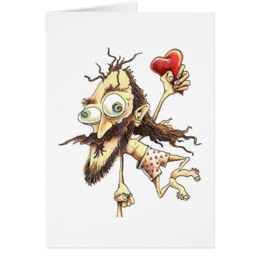 Vuelo hacia mi Valentine - Tarjeta