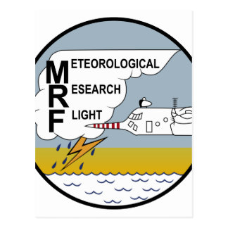 Vuelo meteorológico MRF Hercu de la investigación Postales
