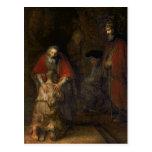 Vuelta del hijo despilfarrador, c.1668-69 tarjetas postales