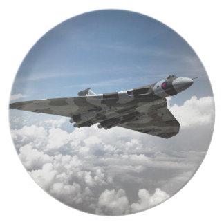 Vulcan aerotransportado plato