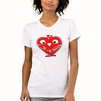 VUVA corazones - Te Quiero corazones Camiseta