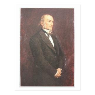 W.E. Gladstone por Millais Postal