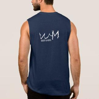 W.M. Patín y acceso. Camisetas sin mangas