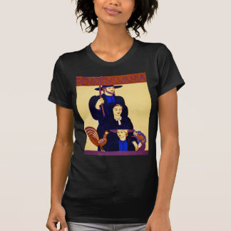W.P.A. Vintage del poster del viaje de Camisetas