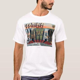 Waikiki, Hawaii - escenas grandes de la letra Camiseta