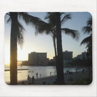 Waikiki Honolulu, HI Alfombrilla De Ratón
