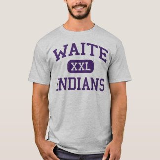 Waite - indios - High School secundaria de Waite - Camiseta