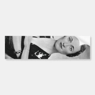Wallis Simpson Pegatina Para Coche