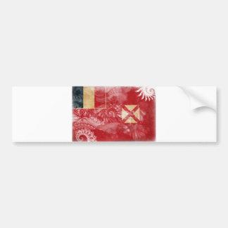 Wallis y bandera de Futuna Pegatina Para Coche