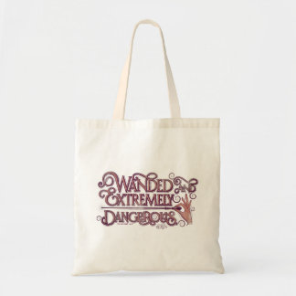 Wanded y gráfico extremadamente peligroso - rosa bolso de tela