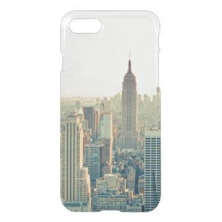 Wanderlust del viaje del horizonte de New York Funda Para iPhone 8/7