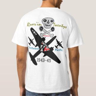 Warkites que ruge estrago de 20s- A-20 Camiseta