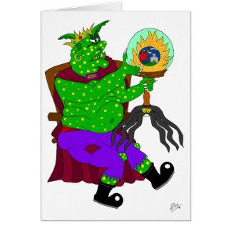 Wartarth y la lámpara mágica tarjeta