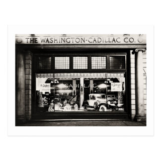 Washington Cadillac Co. 1927 Postal