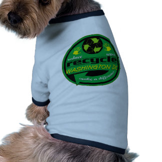 Washington DC de RRR Camiseta Con Mangas Para Perro