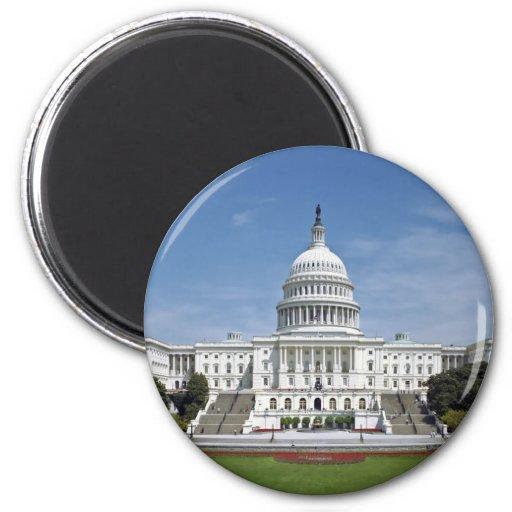 Washington DC del edificio del capitolio de los E. Iman