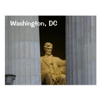 Washington, DC:  El Lincoln memorial Postal