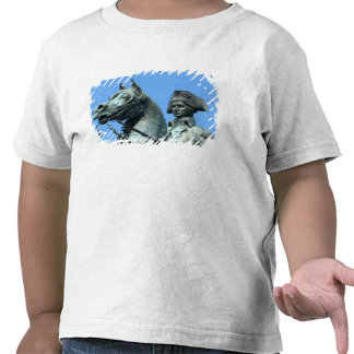 Washington, DC, estatua de general George Camisetas