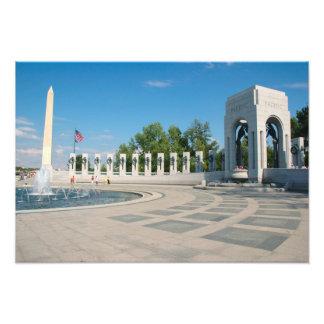 Washington, DC, monumento nacional de WWII Cojinete
