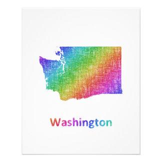 Washington Folleto 11,4 X 14,2 Cm