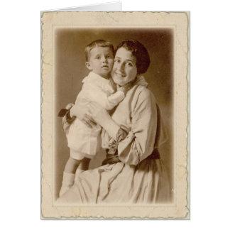 ~Washington Irving de la tarjeta de la madre