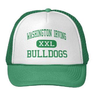Washington Irving - dogos - alto - Nueva York Gorros Bordados