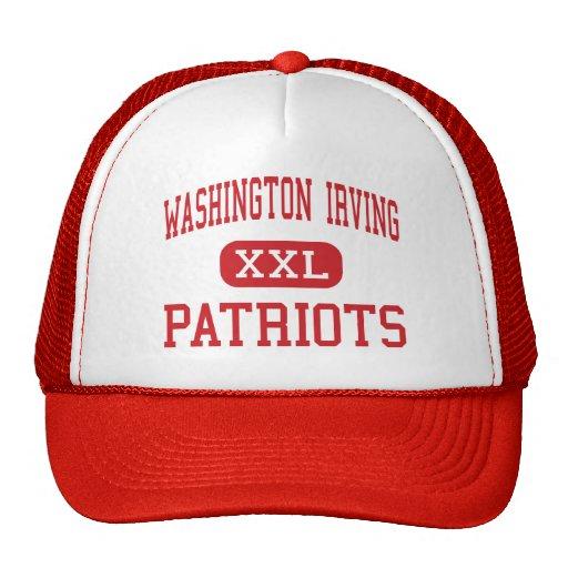 Washington Irving - patriotas - Colorado Springs Gorras De Camionero