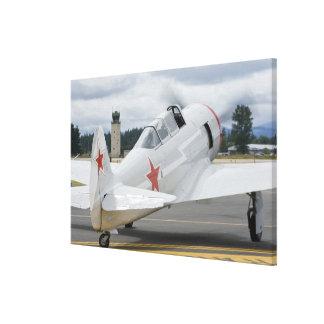 Washington, Olympia, airshow militar. 3 Impresión En Lona Estirada