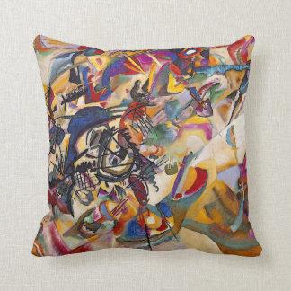 Wassily Kandinsky - arte abstracto de la Cojín Decorativo